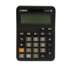 Calculadora Escolar MX-12B Negro 12 dígitos Casio