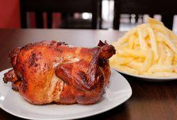 Un pollo a la brasa