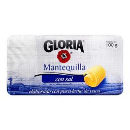 Mantequilla Gloria Con Sal 100 g