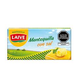 Laive Mantequilla Con Sal