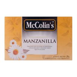 Te Filtrante Mccolin's de Manzanilla 1 g x 25