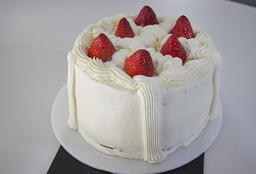 Torta de Fresas (6 Porciones)