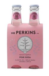 Mr Perkins 4 Pack Pink Soda