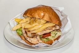 Hamburguesa Simple a la Plancha