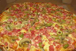 Pizza Hornito Terminator + Pizza Dulce Chica + 2 Limonadas