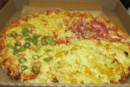 Pizza Cuatro Estaciones Terminator