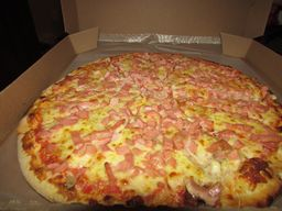 Pizza Jamón Mediana