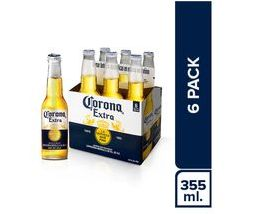 Cerveza Corona Pack 355 mL 6 U