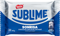 Chocolate Sublime Sonrisa 40 g