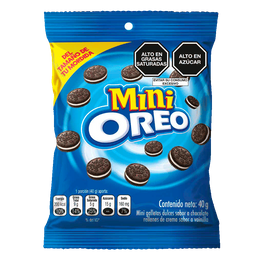 Galleta Oreo Original Mini