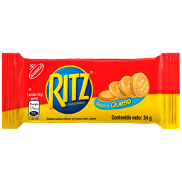 Galleta Ritz Queso 34 g