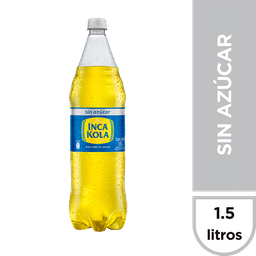 Inca Kola Sin Azucar Inca Kola Gaseosa Sin Azúcar Botella