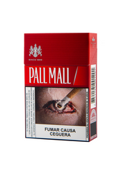 Cigarros Pall Mall Red Caja 20 U