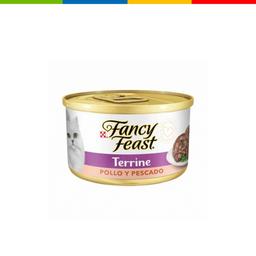 Fancy Feast Chunky Terrine Pollo Y Pescado 85 Gr 11053325