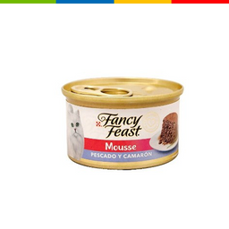 Fancy Feast Class Mousse Pescado Y Camaron 85 Gr 11056670