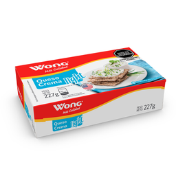 Queso Crema Wong Light Caja 227 G