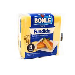 Queso Fundido Bonlé en Tajadas 136 g
