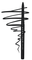 Avon True Delineador Retráctil Para Ojos - Blackest Black