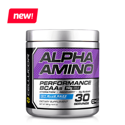 Alpha Amino Icy Blue Raspberry 384Gr