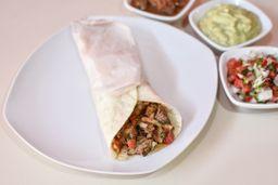 Tacos Carnitas, Bebida y Postre