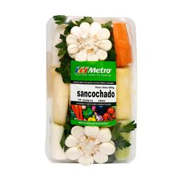 Verduras Para Sancochado Metro Bandeja 800 G