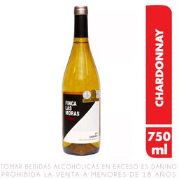 Vino Blanco Las Moras Reserva Chardonnay Botella 750 Ml