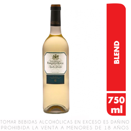 Vino Blanco Marqués De Riscal Rueda 750 mL