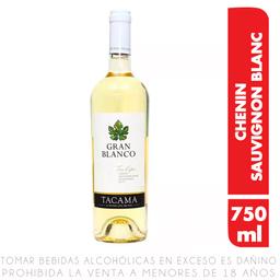 Vino Gran Blanco Seco Tacama Botella 750 Ml