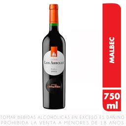 Vino Tinto Cabernet Malbec Los Arboles Navarro Correas Botella 7