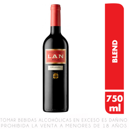 Vino Tinto Lan Rioja Crianza 750 mL