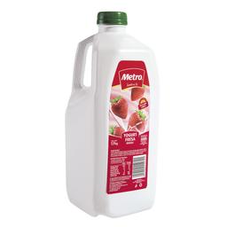 Yogurt Bebible Fresa Metro Frasco 1.9 Kg