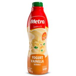 Yogurt Bebible Metro Vainilla 950 g
