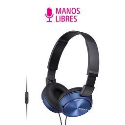 Audífonos MDRZX310AP Azul