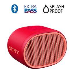 Parlante Bluetooth Extrabass Xb01 Rojo