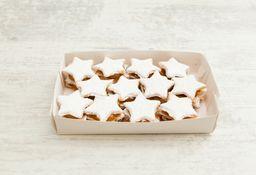 Caja Grande de Alfajores Navidad Clásico Estrella