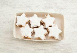 Caja Grande de Alfajores Navidad Estrella