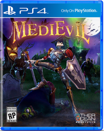 Videojuego Medievil Remastered PS4 1 U