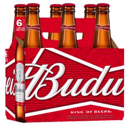 Six Pack De Cerveza Budweiser 343 Ml.