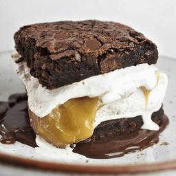Brownie Helado