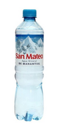 Agua San Mateo sin gas