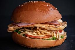 Sándwich con Tocino