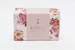 Binatural Jabón Artesanal de Rosas
