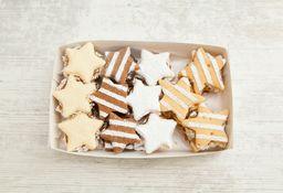 Caja Grande de Alfajores Navidad Tradicional