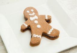 Alfajor Chocolate Navidad Muñeco Personal