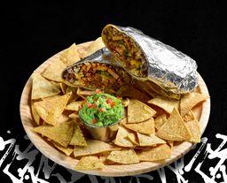 Burrito de Tinga o Arrachera