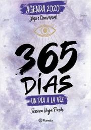 Agenda 2020 365 Dias un Dia a la Vez Jessica Vega 1 U