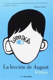 Wonder 1 La Leccion de August Palacio R J
