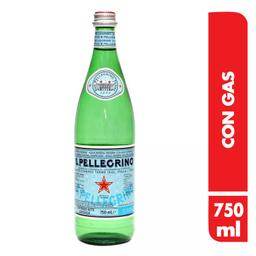 Agua Mineral San Pellegrino C/Gas X750Ml