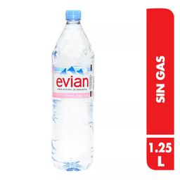 Agua Natural Evian X 1.25 Lt