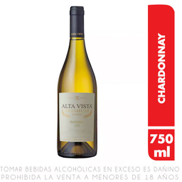 A/V Alta Vista Premium Chardonnay 12/750